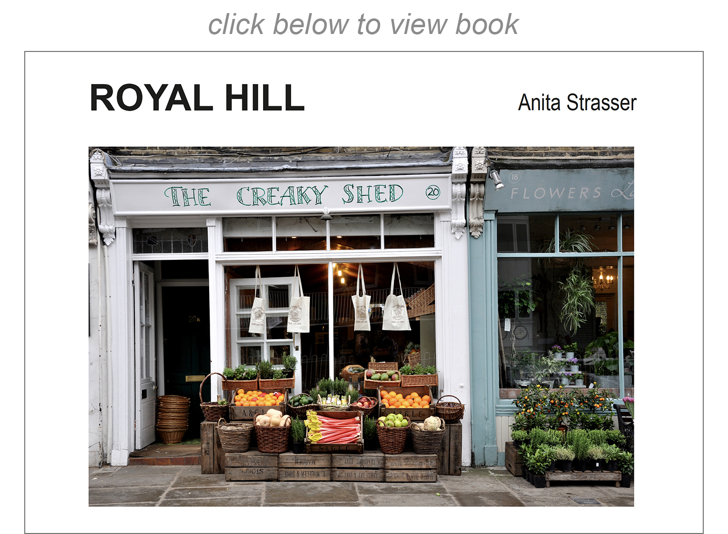 Royal Hill - book
